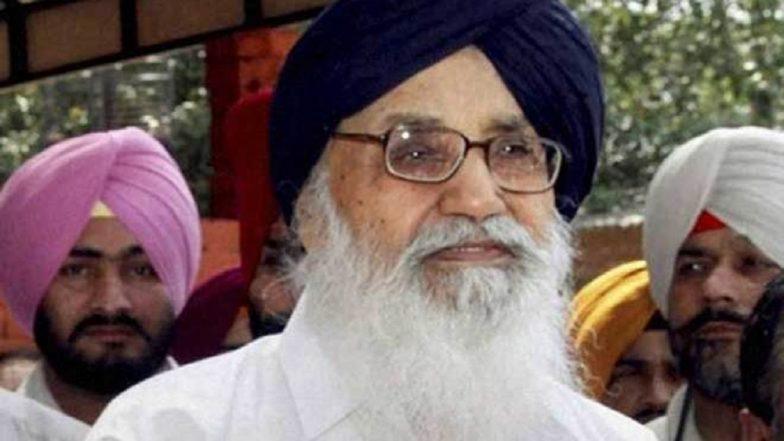 Plot to Assassinate Me, My Son Sukhbir Badal: Ex-Punjab CM Parkash Singh Badal