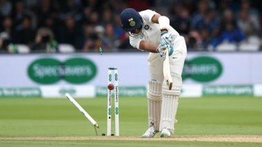 Ind vs Eng 2nd Test Video Highlights: Watch India's Fall of Wickets in Second Innings of Lord's Test
