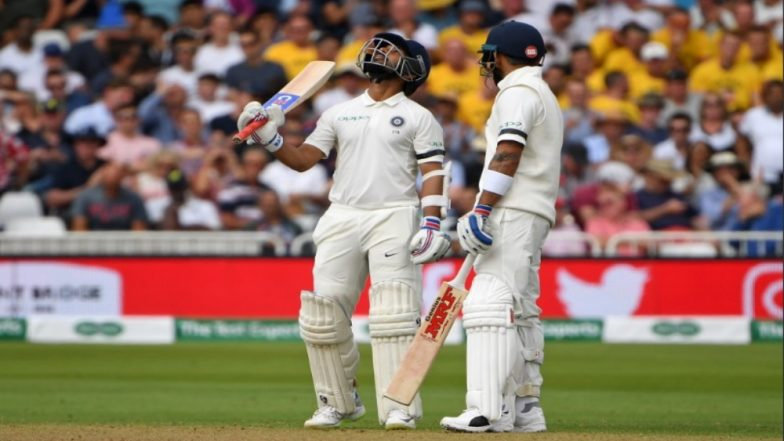 India vs England Third Test, Day 1 Video Highlights: Virat Kohli & Ajinkya Rahane Save the Day for India