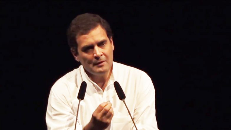 Rahul Gandhi to Interact with Hindustan Aeronautics Limited Employees Today