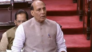 'Pakistan Violated Ceasefire 1,248 Times in Past Six Months,' Says Defence Minister Rajnath Singh in Rajya Sabha