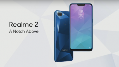 Realme 2 Smartphone Starting at Rs 8,990 Available Today 12 PM, Online on Flipkart