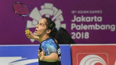 Asian Games 2018: Saina Nehwal Loses Semi-Final to Tai Tzu-Ying, Settles for Bronze Medal in Women's Singles