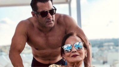 Salman Khan Feels Blessed With His Mother Salma Khan in Malta (View Pic)