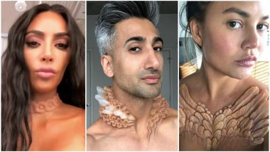 Kim Kardashian, Chrissy Teigen and Other Models Get Temporary Skin Implants And The Pictures Look Creepy!