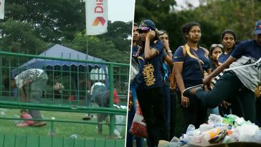 Sri Lankan Fans Take Lessons From Japan, Clean Stadium After a Loss With South Africa (Watch Video)