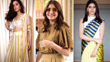 Style Diaries of This Week: Samantha Ruth Prabhu, Shraddha Kapoor Best-Dressed, Anushka Sharma and Hina Khan Worst-Dressed