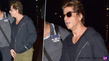 Shah Rukh Khan Oozes Charm As He Arrives at Mumbai Aiport (View Pics)