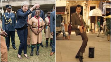 Theresa May Dances on Her African Trip And Twitterati Can't Stop Comparing Her to Mr Bean, Watch Hilarious Video