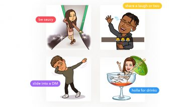 Tinder Adds Bitmoji to Up the Flirting Game! Swipe Right & Impress Your Match With Stickers via Snapchat