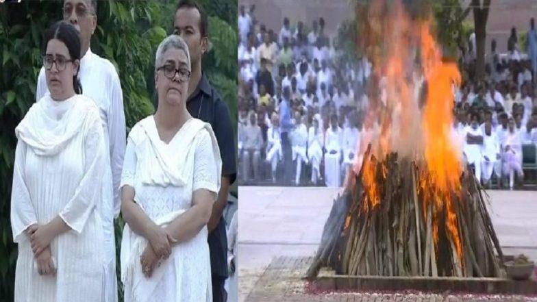 Image result for atal bihari vajpayee pyre