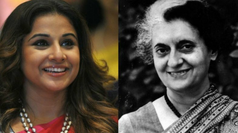 Vidya Balan As Indira Gandhi In A New Web-Series Is What We Are Looking Forward To Watch!