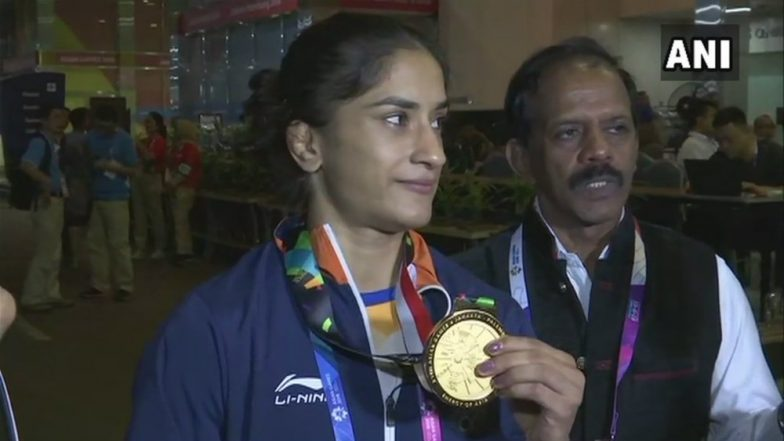 Asian Games 2018 Day 2 Video Highlights: Vinesh Phogat's Gold, Deepak Kumar and Lakshay Sheoran's Silver Dominate Headlines for India