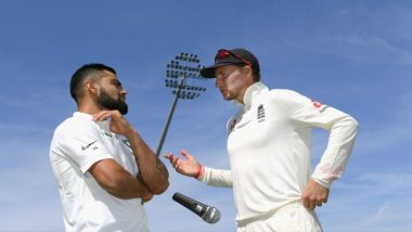 ICC Takes a Jibe at Virat Kohli With a 'Mic Drop' Gesture After India Lost to England in First Test; Gets TROLLED