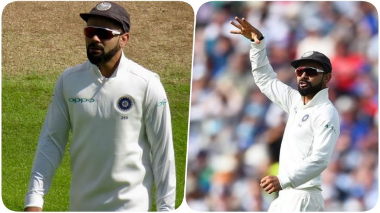 India vs England 2018 Video Diaries: Virat Kohli Takes a Dig at Joe Root With a Mic Drop Celebration