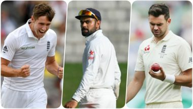 ICC Test Rankings: Virat Kohli Slips to Number 2; Chris Woakes & James Anderson Take Giant Leaps after Lords Test