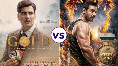 Gold vs Satyameva Jayate Box Office Collection: Akshay Kumar's Film Dominates Over John Abraham's Action Thriller On Day 4