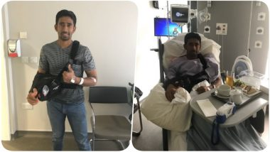 Wriddhiman Saha Gets Operated Under the Supervision of the BCCI in Manchester