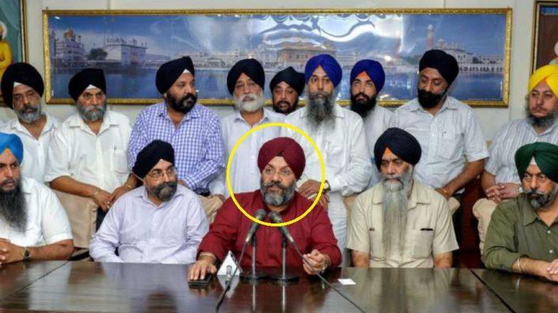 Watch Video: Akali Dal Leader Manjeet Singh GK Attacked, Face Blackened Outside a Gurdwara in California, Three Arrested