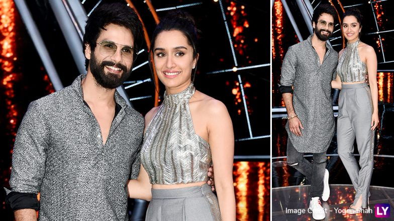 Shraddha Kapoor and Shahid Kapoor Are Twinning In The Most Adorable Way Possible During Batti Gul Meter Chalu Promotions - View Pics