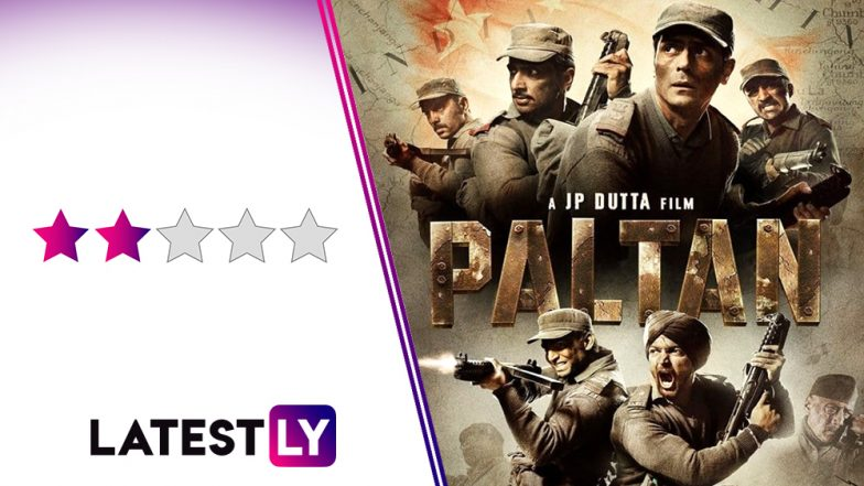 Paltan Movie Review: JP Dutta Makes His Weakest War Film That Shines Only Towards The Final Moments