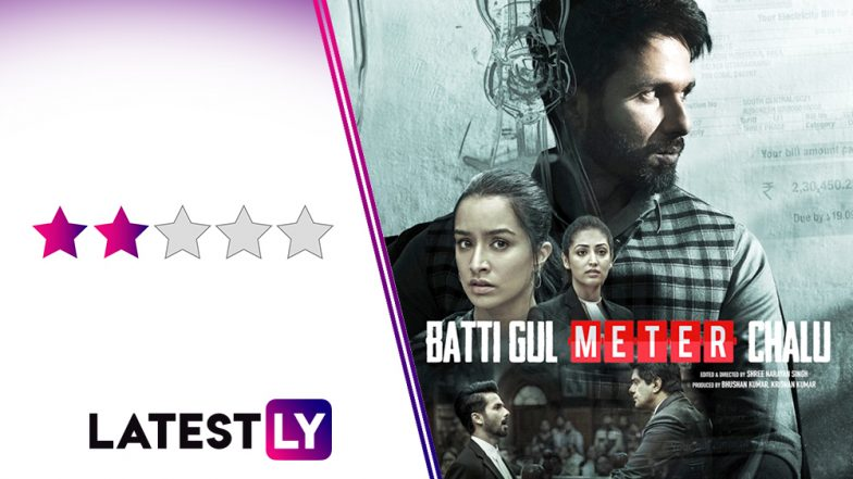 Batti Gul Meter Chalu Movie Review: Shahid Kapoor Tries Too Hard in This Farcical Social Drama