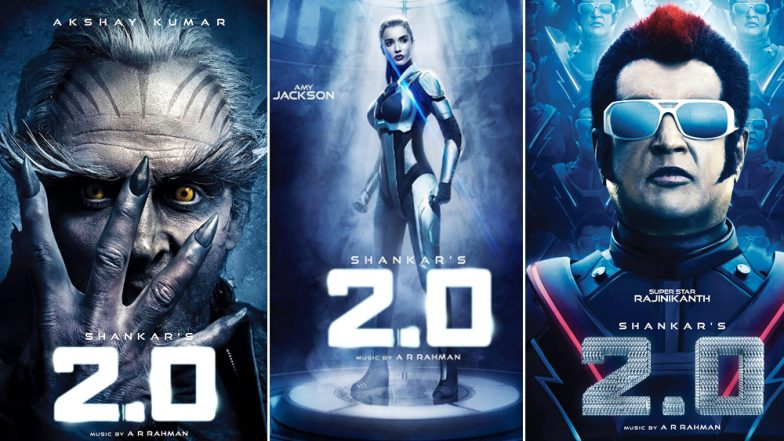 2.0 Teaser: 5 Posters of Akshay Kumar, Rajinikanth and Amy Jackson That Will get You Excited- See Pics INSIDE