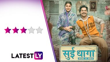 Sui Dhaaga Movie Review: Varun Dhawan and Anushka Sharma Bring a Lot of Charm To This Simple Tale Told in a Pleasing Manner