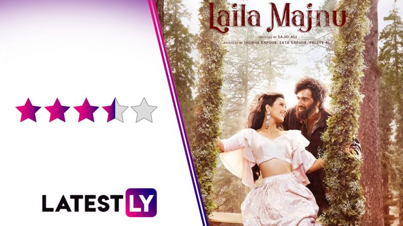Laila Majnu Movie Review: An Enchanting Avinash Tiwary and Confident Tripti Dimri Impress Big Time in This Beautifully Shot Love Story
