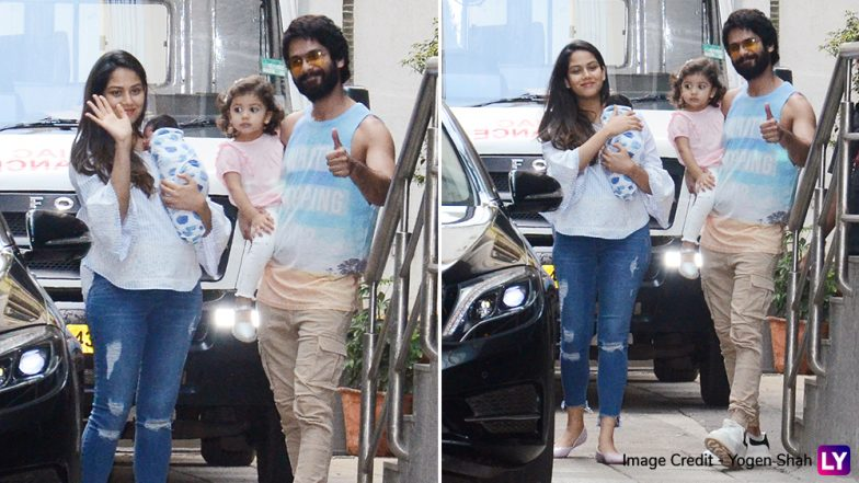 Shahid Kapoor's Wife Mira Rajput Out of Hospital With Son Zain to Celebrate Her Birthday!