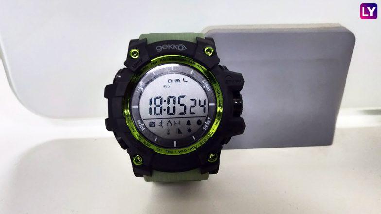 Sanzar Futureteq Gekko GX1 Digital Smartwatch: An Affordable Hybrid Activity Watch To Cater Your Fitness Goals