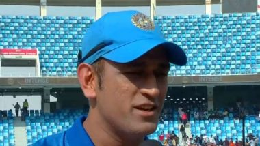 Little Kid Turns Down Offer to Meet MS Dhoni During an Event in Mumbai (Watch Video)