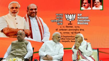 Lal Krishna Advani 92nd Birthday: PM Narendra Modi Hails the Senior Leader for His Role in Making BJP 'Dominant Pole' in Indian Politics