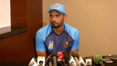 Mashrafe Mortaza to Contest in Upcoming Bangladesh National Election for Ruling Party Awami League