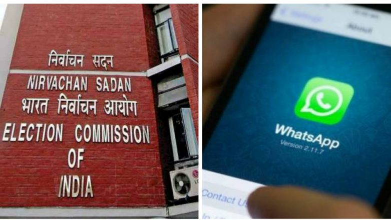 Election Commission Tells Candidates Not to Send SMS or WhatsApp Messages to Voters From 10 am to 6 pm During Poll Campaigns