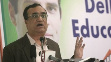Ahead of Lok Sabha Elections 2019, Ajay Maken Resigns As Delhi Congress Chief Citing Health Reasons