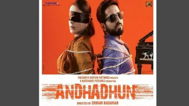 Andhadhun China Box Office Collection: Ayushmann Khurrana and Tabu Starrer Becomes the Fourth Highest Grossing Indian Film, Mints Rs 246.43 Crore