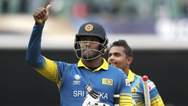 Angelo Mathews Appointed As Sri Lanka's Stand-in T20I Captain for West Indies Tour