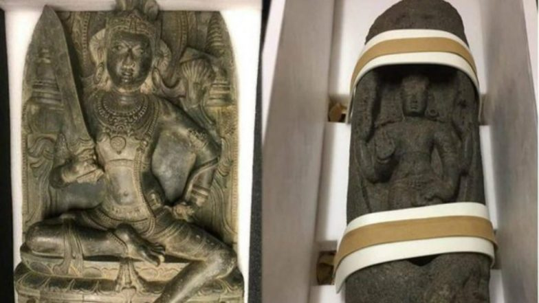 US Returns Two Antique Statues Worth Thousands of Dollars Stolen From India
