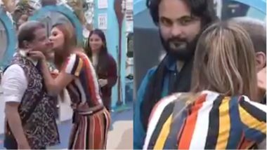 Bigg Boss 12: Jasleen Matharu KISSES Anup Jalota In The Bathroom Area Of The House - Watch Video