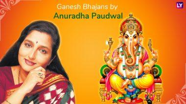 Ganpati Songs by Anuradha Paudwal: Jai Ganesh Jai Ganesh Deva Aarti to Shree Ganesh Stuti, Listen to These Devotional Bhajans & Mantras This Ganeshotsav