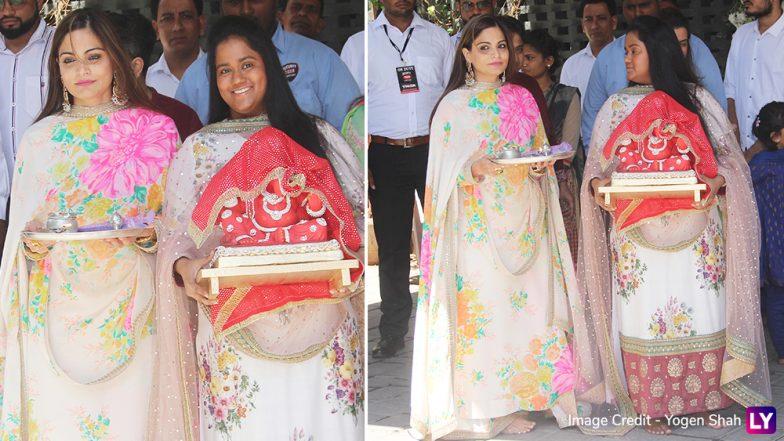 Ganesh Chaturthi 2018: Salman Khan's Sister Arpita Welcomes Bappa at Her Home – View Pics