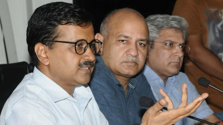 Arvind Kejriwal, Manish Sisodia, Two Other AAP Leaders Face Charges For 2014 Dharna Outside Rail Bhavan