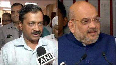 Delhi CM Arvind Kejriwal Challenges BJP President Amit Shah for a Public Debate at Ramlila Maidan