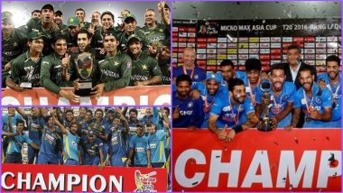 Asia Cup Winners List: Which Country Won the Cup Most Number of Times? Here Are the Past Champions