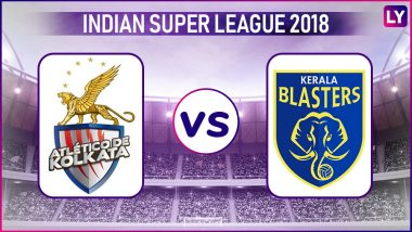 ATK vs Kerala Blasters, ISL 2018–19 Live Streaming Online: How to Get Indian Super League 5 Live Telecast on TV & Free Football Score Updates in Indian Time?