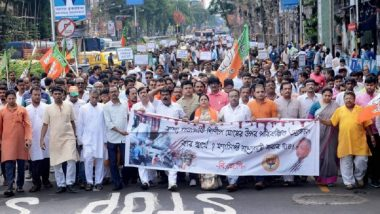 Islampur on Boil Following Students' Killing: TMC MLA Heckled by Grieving Families, RSS-BJP Call Bengal Bandh on Wednesday
