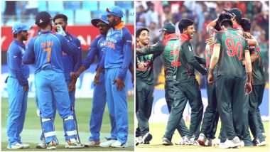 India vs Bangladesh Head-to-Head Record: Ahead of T20I Series, Here Are Match Results of Last 5 IND vs BAN Twenty20 Encounters!
