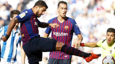 Spanish La Liga 2018–19 Points Table and Standings: Barcelona Beats Real Sociedad 2–1, Remain Ahead of Real Madrid