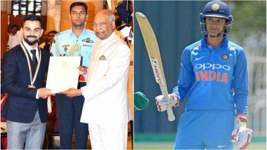 BCCI Congratulates Virat Kohli, Smriti Mandhana for National Awards